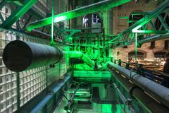 Giro del museo del deposito di Guinness immagini stock