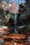Giro del otoño de la cascada Fotografía de archivo libre de regalías