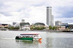 Giro del paesaggio della città di Singapore immagine stock