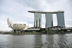 Giro del paesaggio della città di Singapore fotografia stock libera da diritti