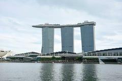 Giro del paesaggio della città di Singapore immagini stock