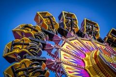 Giro del parco di divertimenti Fotografie Stock
