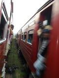 Giro del treno Fotografie Stock Libere da Diritti