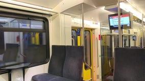 Giro del treno a Soletta video d archivio