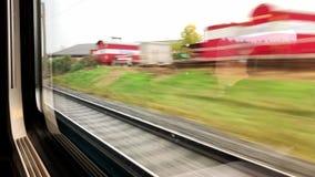 Giro del treno a Thun archivi video