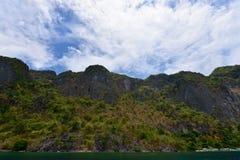 Giro dell'isola di Coron Fotografie Stock Libere da Diritti