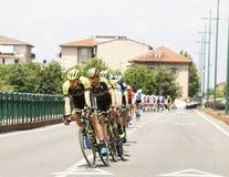 Giro dell'Italia Fotografie Stock