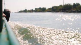 Giro della barca video d archivio