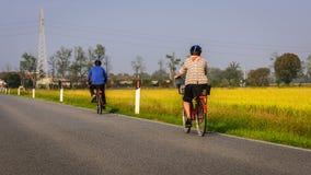 Giro della bici Fotografia Stock Libera da Diritti