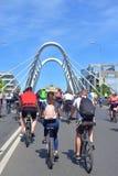 Giro della bici in StPetersburg immagine stock libera da diritti