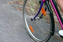 Giro della bicicletta Fotografia Stock