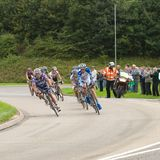 Giro della corsa 2008 del ciclo della Gran-Bretagna - fase 4 Fotografia Stock