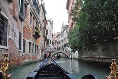 Giro della gondola di Venezia Fotografia Stock