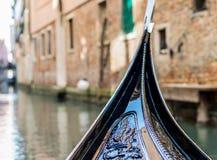 Giro della gondola a Venezia Immagine Stock