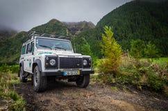Giro della jeep Fotografie Stock Libere da Diritti