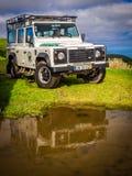 Giro della jeep in Azzorre Fotografie Stock