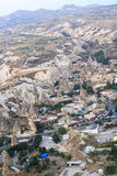 Giro della mongolfiera, Cappadocia Fotografie Stock