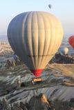 Giro della mongolfiera, Cappadocia Fotografia Stock Libera da Diritti
