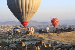 Giro della mongolfiera, Cappadocia Immagini Stock