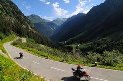 Giro della motocicletta Fotografie Stock