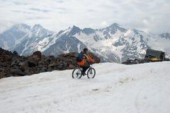 Giro della neve Fotografie Stock