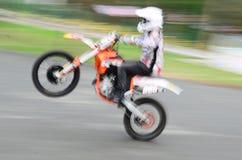 Giro della rotella posteriore Fotografia Stock