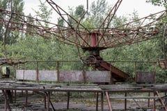 Giro della sedia, Pripyat Immagine Stock Libera da Diritti