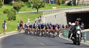 Giro della Spagna 2011 Fotografia Stock Libera da Diritti