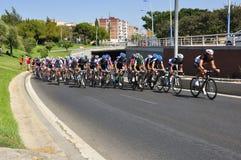 Giro della Spagna 2011 Immagini Stock Libere da Diritti