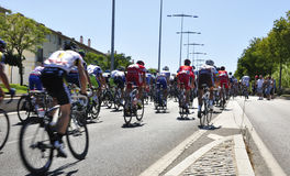 Giro della Spagna 2011 Immagini Stock