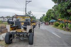 Giro della trazione integrale alla montagna Pinatubo Fotografia Stock Libera da Diritti