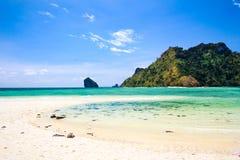 Giro delle isole di Krabi quattro, Tailandia Fotografie Stock