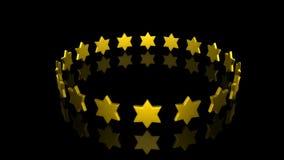 Giro delle stelle illustrazione vettoriale