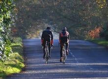 Giro di addestramento del ciclo di sport Immagini Stock