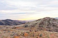 Giro di avventura in deserto Fotografie Stock Libere da Diritti