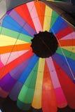 Giro di Baloon dell'aria calda Immagine Stock