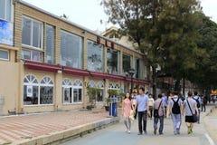 Giro di camminata dei turisti sulle tracce pedonali Fotografia Stock Libera da Diritti