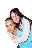 Giro di a due vie delle coppie Fotografia Stock
