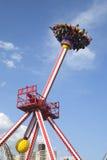 Giro di emozione di Luna 360 in Coney Island Luna Park Immagini Stock