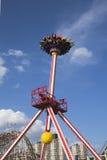 Giro di emozione di Luna 360 in Coney Island Luna Park Fotografia Stock