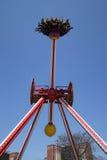 Giro di emozione di Luna 360 in Coney Island Luna Park Fotografie Stock Libere da Diritti
