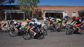 Giro di Gila Bike Race Silver City, nanometro 2017 fotografie stock libere da diritti