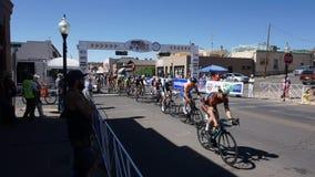 Giro di Gila Bike Race Silver City, nanometro 2017 Immagine Stock