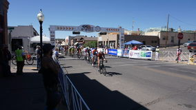 Giro di Gila Bike Race Silver City, nanometro 2017 fotografia stock libera da diritti