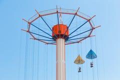 Giro di goccia di paracadute a Tokyo Dome Immagini Stock