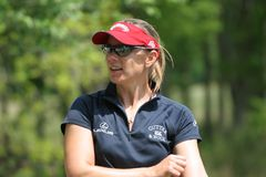 Giro di golf di Annika Sorenstam LPGA, Stockbridge, 2006 Fotografia Stock