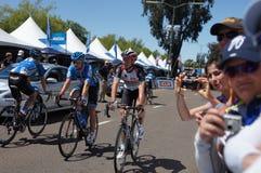 Giro di Jens Voigt 2013 di California Fotografie Stock Libere da Diritti