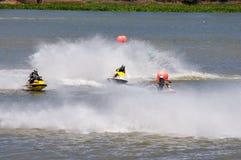Giro di Jetski di G-scossa pro Tailandia 2014 Watercross internazionale G Fotografie Stock