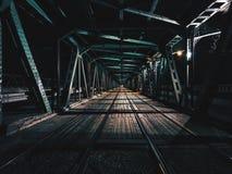 Giro di notte Fotografie Stock