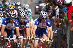 Giro di Peleton giù sotto 2010 Fotografie Stock Libere da Diritti